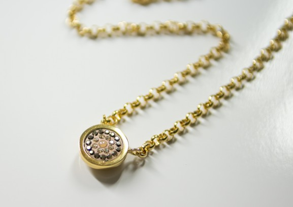 Mi-Moneda-Necklace-silver-gold-combio