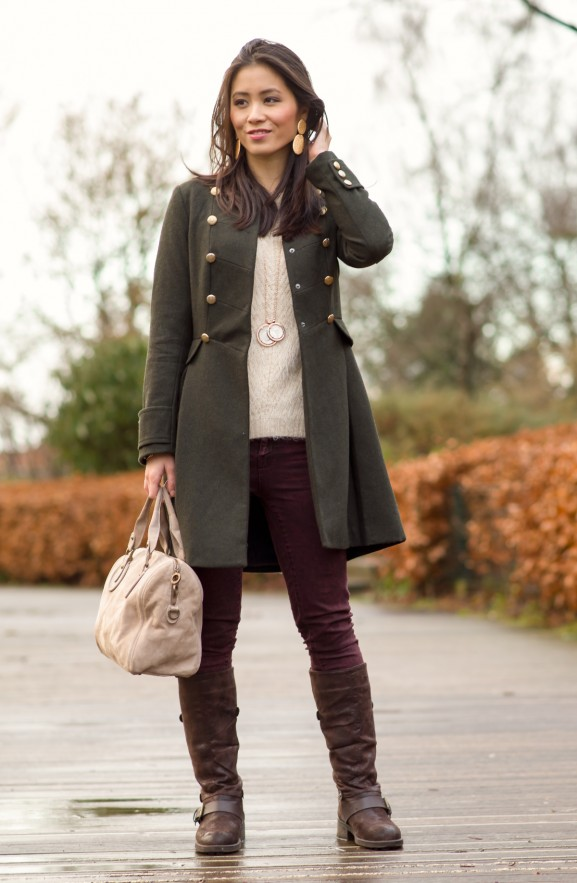 Tov essentials outfit winter