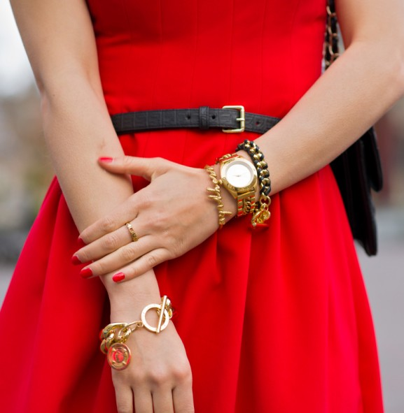 christmas-dress suuz ring armband