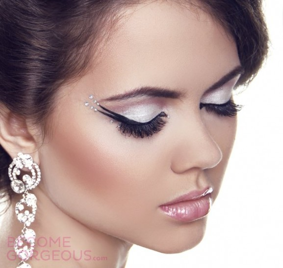 eyeliner-christmas-make-up-look-577x545 Inspiratie: Feestelijke make-up look