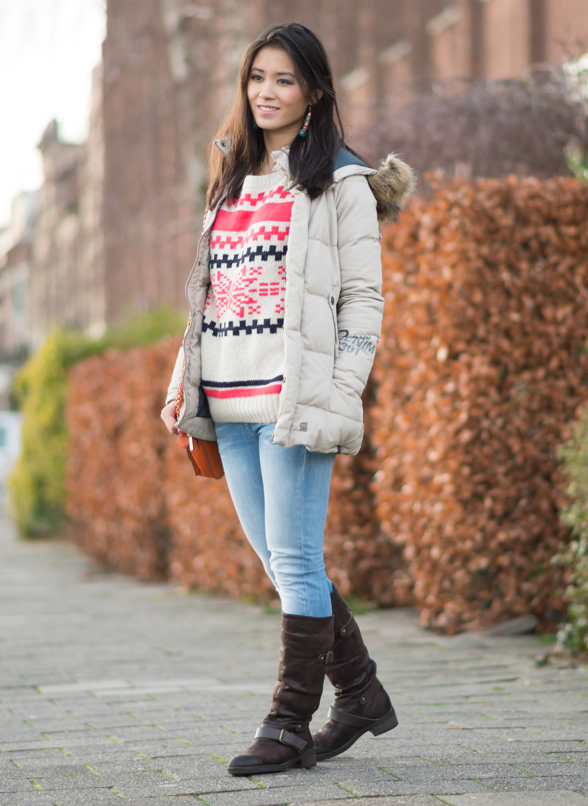 gstar jas winter outfit look