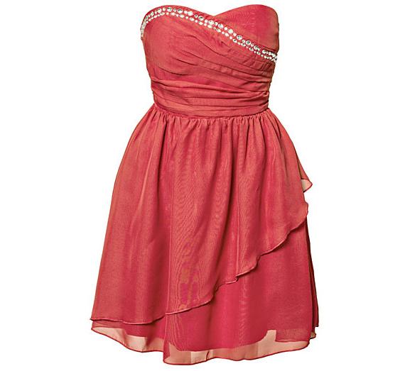 jurk-koraal-roze Shopping: Sale bij Nelly.com