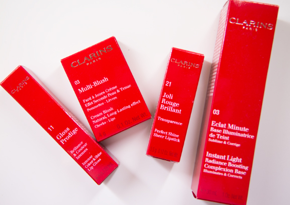 Clarins opascene make up