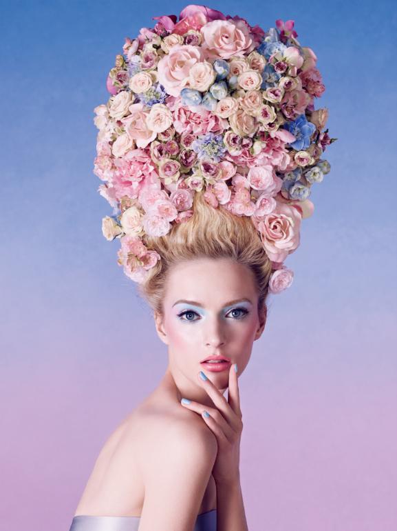 Dior-New-Look-Spring-2014-visual-potrait Dior Trianon Make-up collectie 2014
