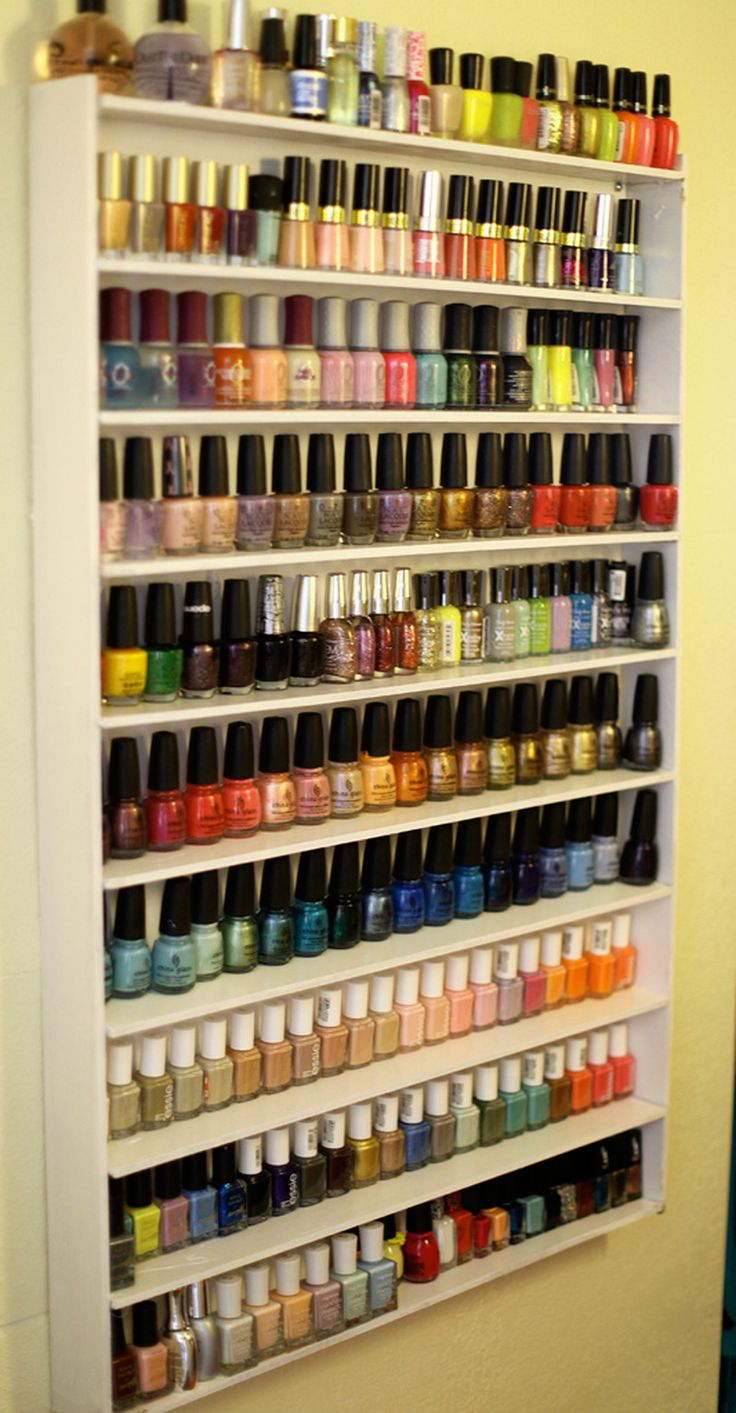 Make up organizer nagellak