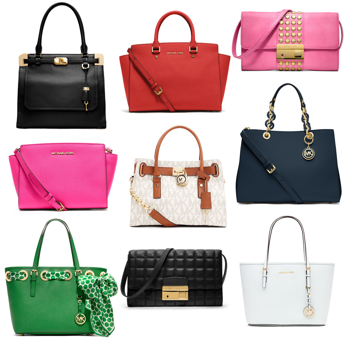 Michael-Kors-Handbags-2014 Shopping: Michael Kors tassen lente/zomer collectie 2014