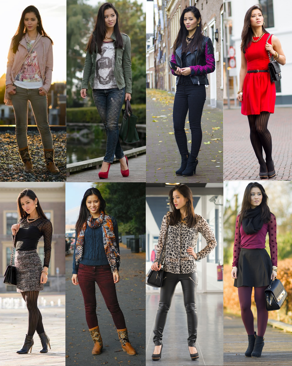 Outfits-fotos-blazers-autumn-winter-dress-2013-My-Huong Outfits van 2013