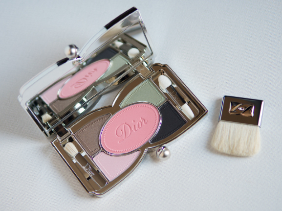 Palette-voor-eyes-eyeliner-en-blush-Favorite-Dior-Trianon Follow up: Dior Trianon Lente Make-up collectie 2014