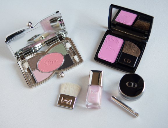 Review-Dior-trianon Follow up: Dior Trianon Lente Make-up collectie 2014