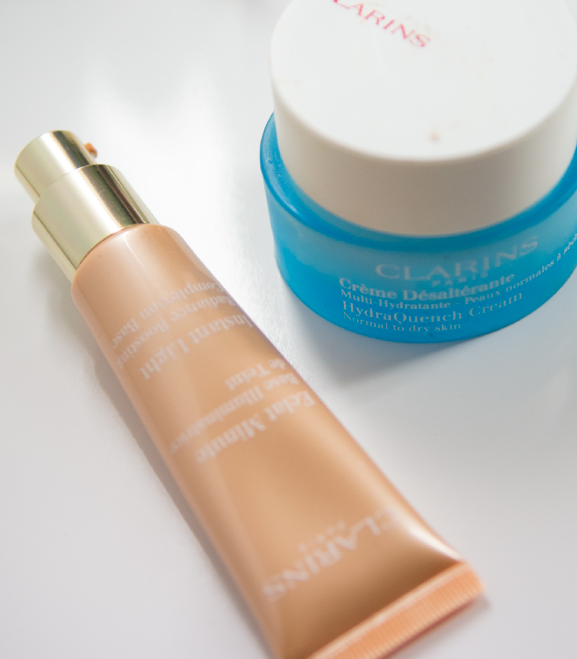clarins-complexion Clarins Spring make-up look