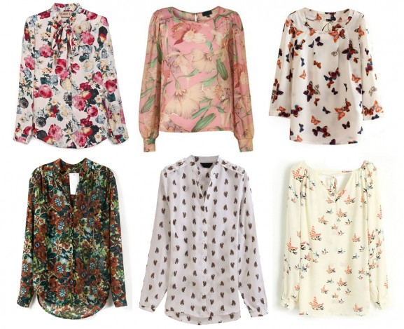 sheinside-blouse-floral-birds-shopping