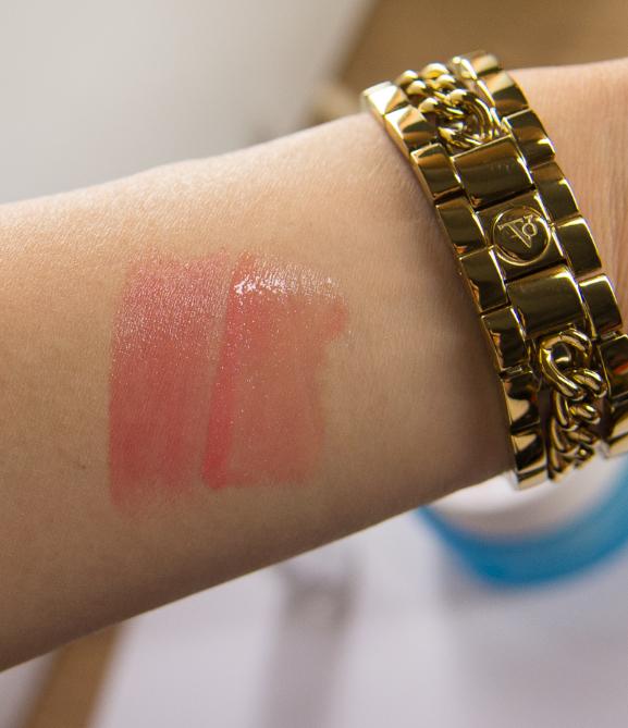 swatch lipstick en gloss