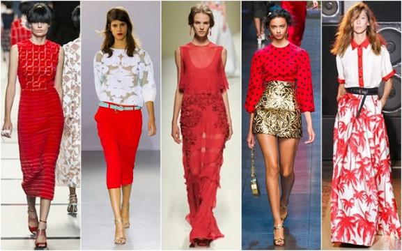Fendi-Frankie-Morello-Alberta-Ferretti-Dolce-and-Gabbana-and-Fausto-Puglisi-577x360 Trends: modekleuren lente 2014