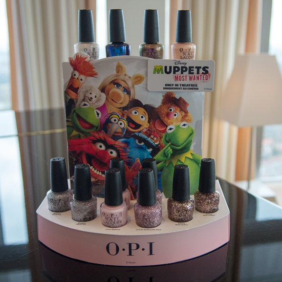 OPI-Muppets-most-wanted OPI blog lunch met Anja Happé
