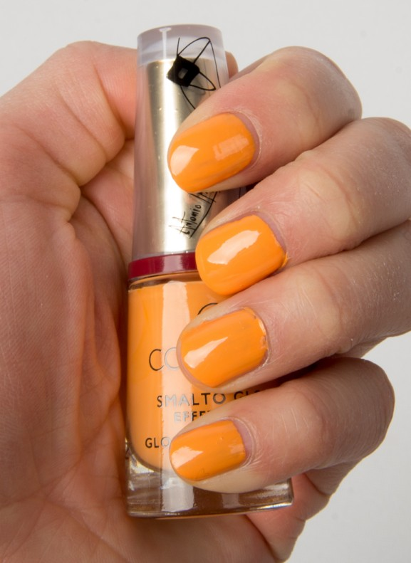 Okergeel-Collistar-Nagellak-swatch-577x791 Collistar Ti Amo Italia by Antonio Marras Lente/zomer make-up collectie 2014