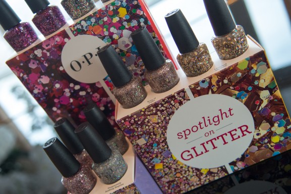 OPI Event spotlight glitter