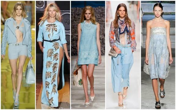 Versace-Fausto-Puglisi-Blugirl-Etro-and-Antonio-Marras-577x360 Trends: modekleuren lente 2014