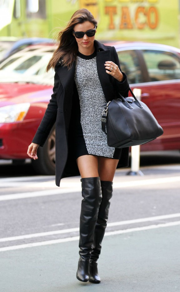 Miranda Kerr  in New York.