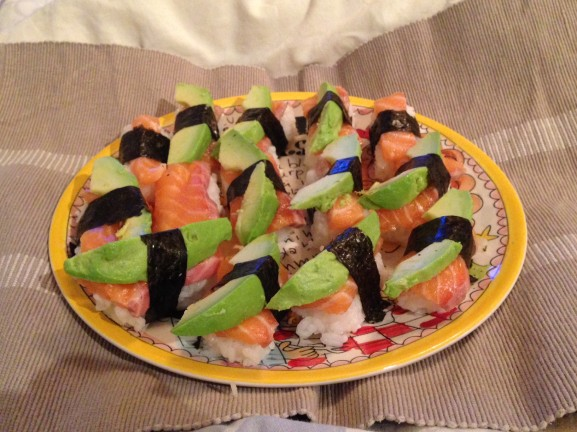 Sushi-by-Njoek-Huong-Zalm-avocado-577x432 Diary pic's of the month