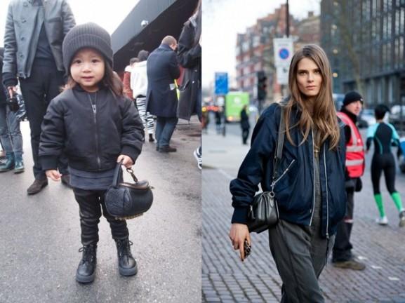 fashionista kinderen bomberjack