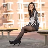 hotpants-look-outfit-200x200 Outfit: Striped Blouse and Hotpants