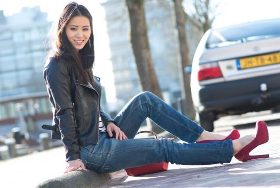 my-huong-bikerjacket-amy-ivy-577x388 Outfit: Amy & Ivy Biker Jacket