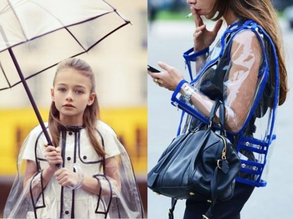 transparant regenjas kinderen