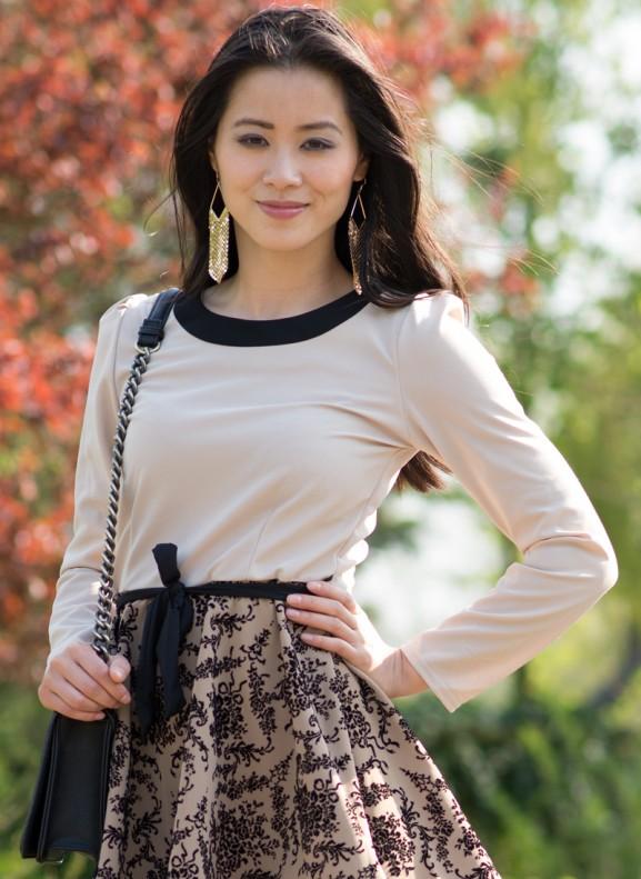 My-Huong-Outfit-Sheinside-barok-577x791 Outfit:  Apricot Barok Ruffle Dress