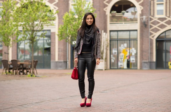 My-Huong-outfit-look-pumps-red-Longchamp