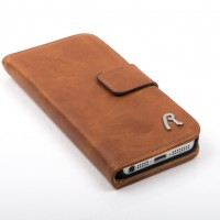 Replay-telefoonhoesje-bruin-leer-iphone5-200x200 Replay iPhone 5 Booklet Case