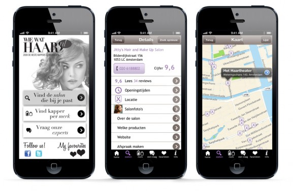 hairsalon finder app