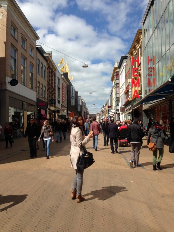 Groningen-Herenstraat-e1399844408106-577x769 Diary pic's: Koningsdag, Shoppen, Bowlen en Eten