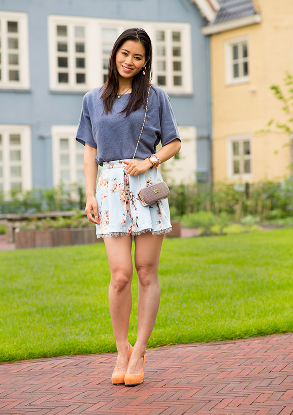my-huong-raniscimento-techno-skirt-peter-hahn Outfit: Into the Blue's