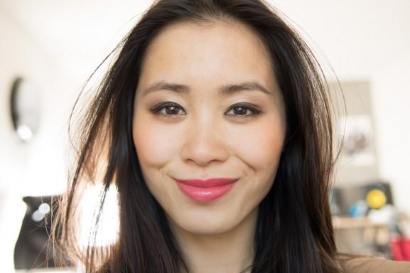 my-huong-wears-rouge-G-Geneva-Guerlain-Lipstick-577x384 Rouge G De Guerlain 2014