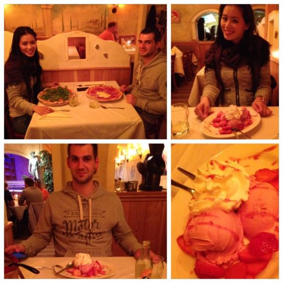 pizza-aardbeien--577x577 Diary pic's: Koningsdag, Shoppen, Bowlen en Eten