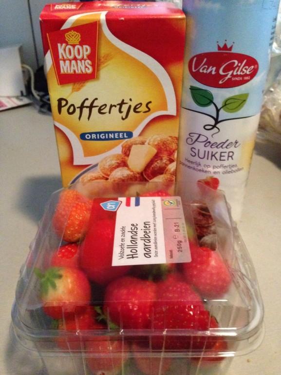 poffertjes-met-aardbei-e1400450649645-577x769 Diary pic's: nieuwe beauty producten, ijsjes en 30 Seconds