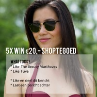 win-shoptegoed-zonnebrillen-rayban-fuva-the-beauty-musthaves