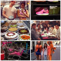 Diary pics fitness guru roze nikes mutlivlaai winkelwagen roze wk 2014 travastiteit