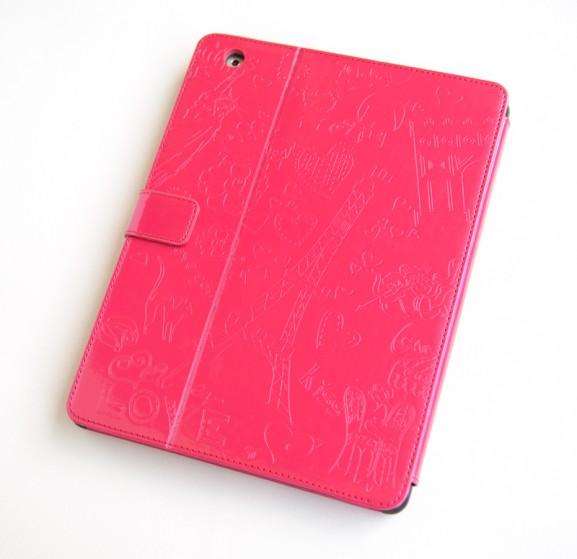 Fuchsia-glanzend-romantische-tablethoes-voor-de-iPad-2--hoes-roze