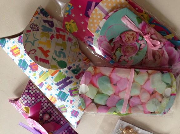 Leuke-cadeau-verpaking-577x432 Diary: Fitness, shoppen, eten en WK