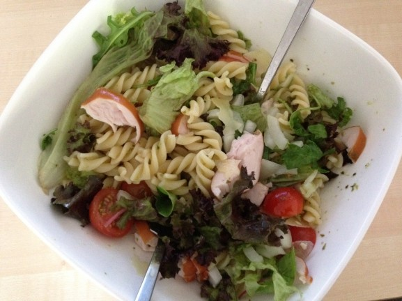 Pasta salade ah home made