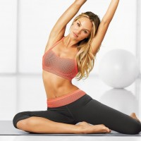 fitness girl een mooi strak lichaam