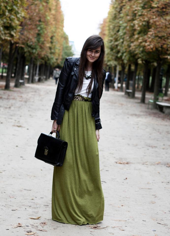maxi dress combineren
