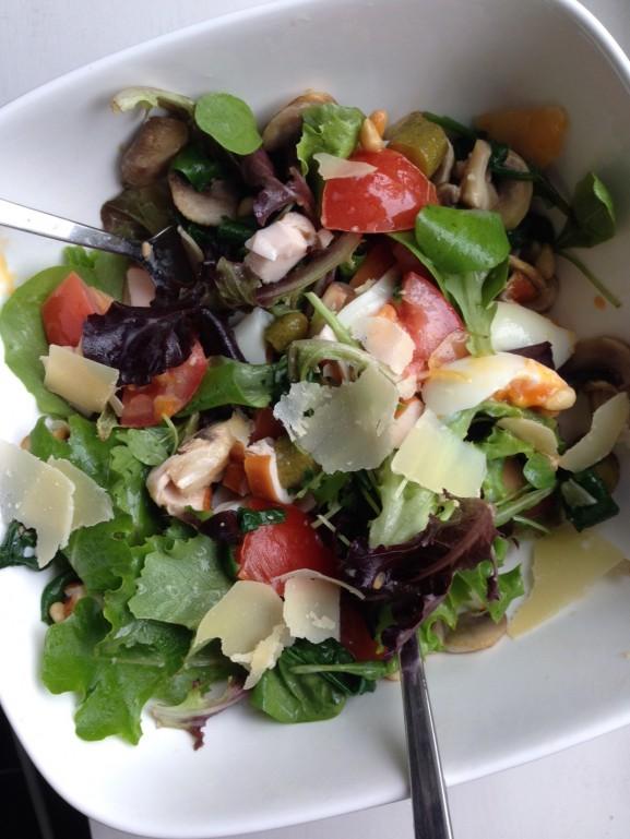 salade-577x769 Diary: Zonnige dagen, home made salade & Sloepjesdag
