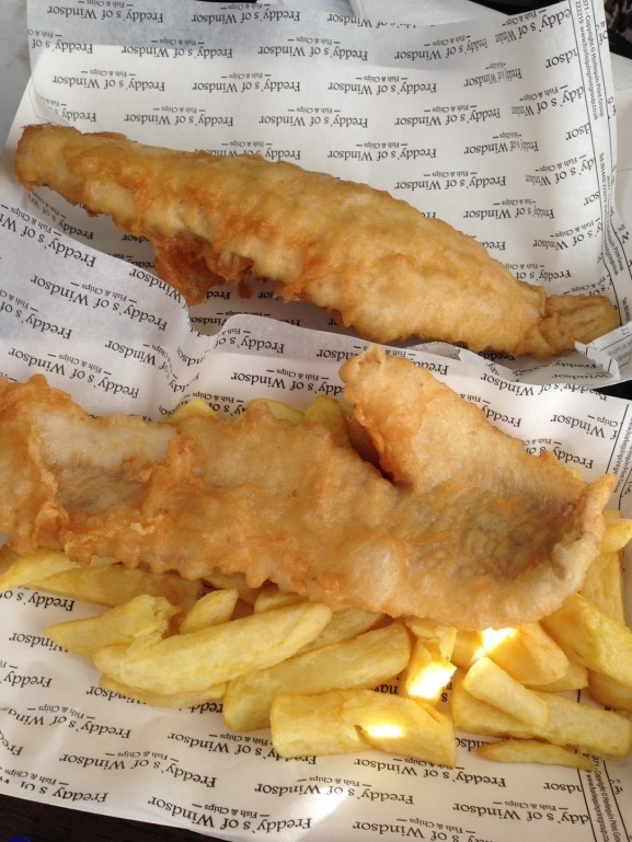 Fish-and-chips-windsor-577x769 Diary:  naar Engeland