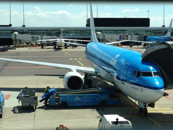 KLM schiphol London Heathrow