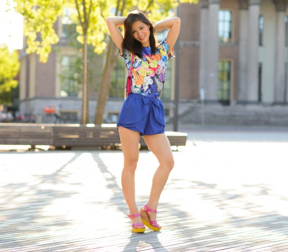 My-HUong-outfit-sheinside-blue-blogger