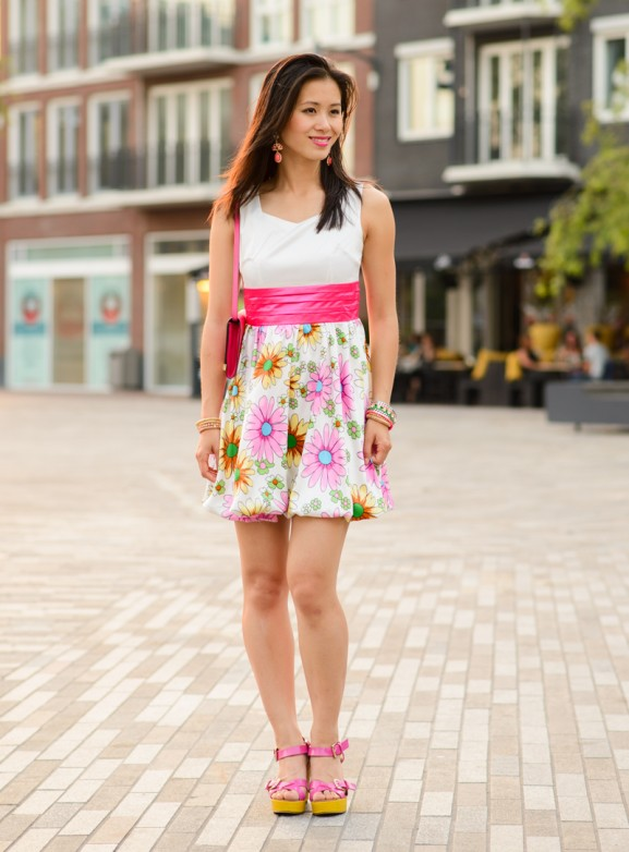 My-Huong-flower-dress-outfit