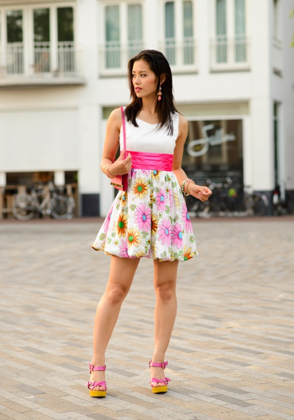 my-huong-outfit-dress-outfit-577x824 Outfit: Flower dress