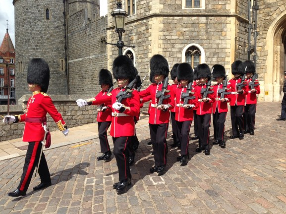 soldiers-castle-windsor-577x432 Diary:  naar Engeland